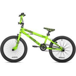 "Thruster 20"" Chaos Boys' BMX Bike Sturdy Gusseted Steel Fram"