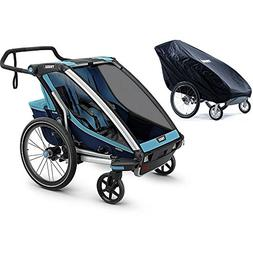 Thule Chariot Cross 2 Multisport Trailer Blue/Poseidon with