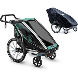 Thule Chariot Lite 1 Multisport Trailer - Bluegrass/Black wi