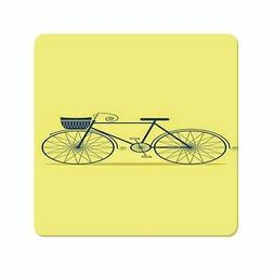 Charming Designed Picturesque Bicycle Painting Ultra Thin Mo