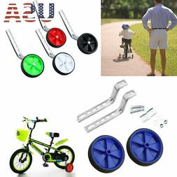 "Children Bike Bicycle Training Wheels Side Wheels For 12-20"""