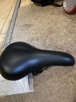 "Dynacraft Cionlli Black Bicycle Mountain Bike Seat 6.5"" x 10"