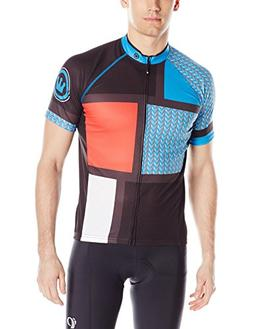 Canari Men's Circuit Jersey, Azure Blue, Large