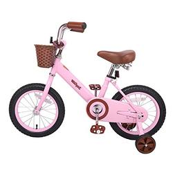 JOYSTAR 14 Inch Classic Kids Bike for 4-6 Year Girls, Kids B