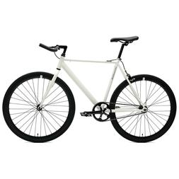 Critical Cycles Classic Fixed-Gear Single-Speed Bike with Pu