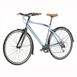 OPUS Classico Lightweight Hybrid Bike - SILVER BLUE