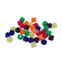 Colorful Assorted Plastic Clip Kids Bike Bicycle Wheel Spoke