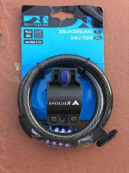 M-Wave Combination Cable Lock