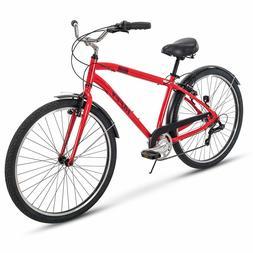 Huffy Comfort Commuter Bike, 27.5 inch Hyde Park 7 Speed & 3