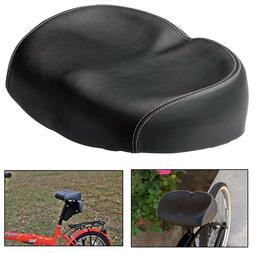 Comfortable Bike Seat Large Wide Soft No Pressure Bicycle Er
