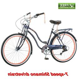"26"" Schwinn Women's Condesa Cruiser Bike, Blue"
