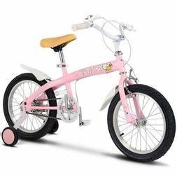 Costzon Kids Bike, 12-16 inch Wheels, Bicycle with Training