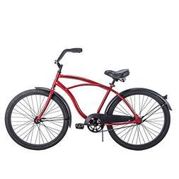 "26"" Huffy Men's Cranbrook Cruiser Bike, Red"