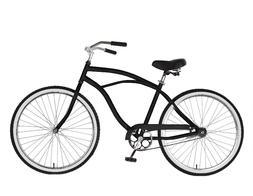 Cruiser Bike, 26 in wheels, 18 in frame, Men's Bike, Black