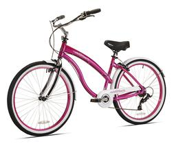 "Kent Cruiser Bike 26"" Women's Pink Beach and City Comfor"