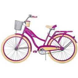Huffy Cruiser Bike for Women 26 inches Purple Deluxe NEW