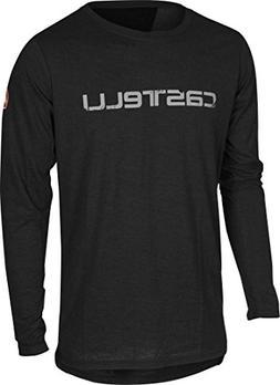 Castelli CX Long-Sleeve T-Shirt - Men's Black, XXL