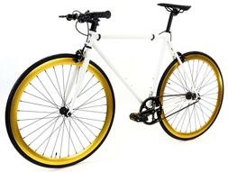 Golden Cycles Fixed Gear Single Speed Bike Bicycle Pharaoh-