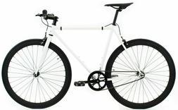 Golden Cycles Shocker Fixed Gear Bike Fixie w Deep V Rims Wh