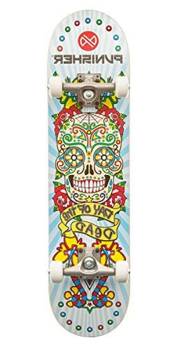"Day of the Dead 31.5"" Dual-Kick with Concave Complete Skateb"