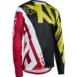 Fox Racing Demo Long-Sleeve Bike Jersey - Men's Yellow/Black