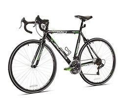 denali road bike black green 20 inch