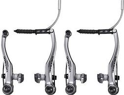 SHIMANO DEORE T610 LINEAR-V BRAKE SILVER MTB BICYCLE FRONT A