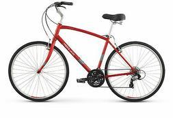 "RALEIGH Detour 2 Comfort Bike, 19"" /LG, Red, 19"" / Large"