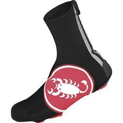 Castelli Diluvio 16 Shoe Covers Red Scorpion, XXL