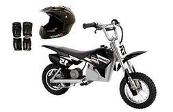 Razor Dirt Rocket 24V Electric Bike with Helmet, Elbow & Kne