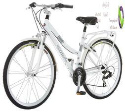 Schwinn Discover Hybrid Bikes For Men And Women, Featu Alumi