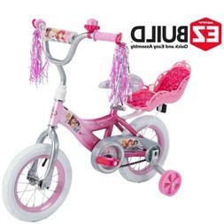 Disney Princess 12 Girls' EZ Build Pink Bike, by Huffy