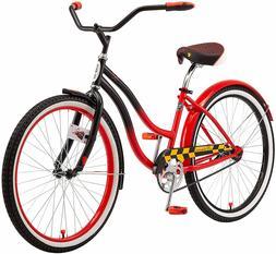 `Schwinn Disney Queen Adult Classic Cruiser Bike, 26-Inch Wh