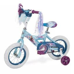 "Huffy Disney's Frozen 2 Kids 12"" Bike Bicycle with Training"