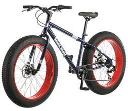 Mongoose dolomite Fat Tire Mens Bike, 26 inch Wheels, 7 Spee
