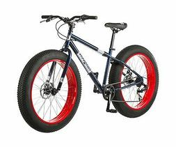 "26"" Mongoose Dolomite Men's 7-speed All-Terrain Fat Tire Mou"