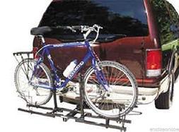 "Double Hitch Platform Rack 2 Bike Carrier Rack 2"" Receiver M"