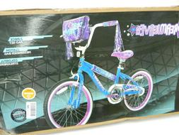 Dynacraft Girls Dream Weaver Bike, Blue/Purple/White/Black,