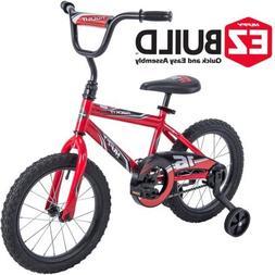 "Durable,Super Comfortable Huffy 16"" Rock It EZ Build Bike,Wi"