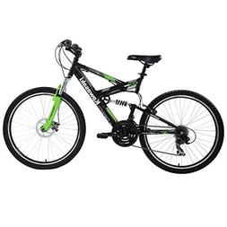 Kawasaki DX Full Suspension Mountain Bike, 26 inch Wheels, 1