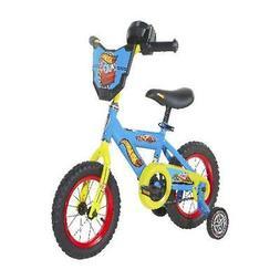 Adjustable Seat Training Bicycle Kids 12 Inch Wheels Handleb