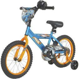 "Dynacraft 16"" Hot Wheels Boy's Bike, Blue W Training Wheels"