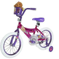 Dynacraft Barbie Girls Bike Sturdy Steel Frame Design Comfor