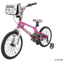 Dynacraft 8093-36TJ Decoy Girls Camo Bike 18-Inch Pink/Black
