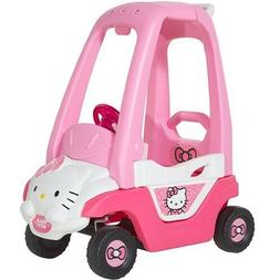 Dynacraft Hello Kitty Push-N-Play Ride On Toy Girls Pink Pri