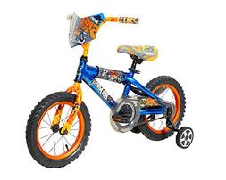 Boys 14 inch Dynacraft Hot Wheels Turbospoke Bike