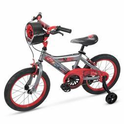 "Easy Build 12"" Boy's Disney Cars Bike with Training Wheels b"