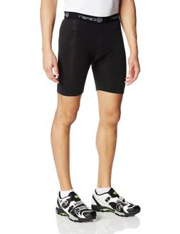 Canari Cyclewear Men's Echelon Pro Cycle Liner, Black, Large
