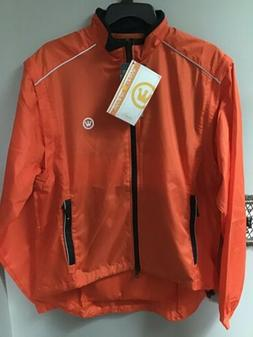CANARI Eclipse Cycling Bike Jacket to Vest Mens Sz Small Lav
