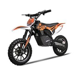 Electric Dirt Bike by MotoTec Features Variable Twist-Grip,